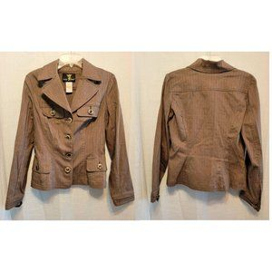 Baby Phat Brown Blazer Jacket Sz L